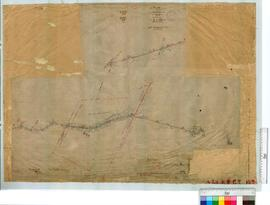 Survey of Road from Location B/9 to 1930 by W.H. Angove, Fieldbook 67 [scale: 20 chains to an inch].