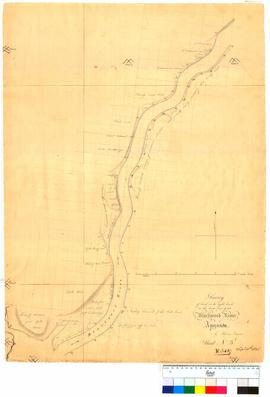 Land on the right bank at lower part of Blackwood River, Sheet 3 by Thomas Turner [Tally No. 0050...