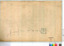 Augusta, plan East of OP 26, superceded by OP 113 lot 48 200 added by F.F. Monaghan [scale: 20 chains to an inch, Tally No. 000829].