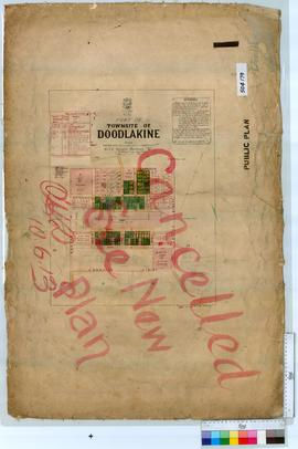 Doodlakine Sheet 1 [Tally No. 504179].