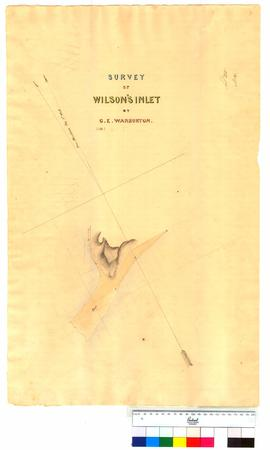 Survey of Wilson's Inlet by G.E. Warburton [Tally No. 005315].