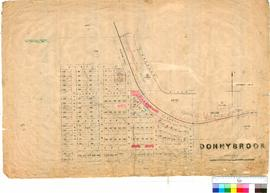 Donnybrook 74. Donnybrook Townsite - Lots 1 to 129. G. R. Turner [scale: 3 chains to 1 inch].