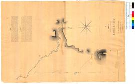 A plan reduced from the survey of Korijekup by H.M. Ommanney, Assistant Surveyor, Leschenault [Tally No. 005211].
