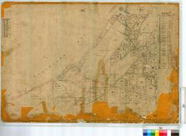 Sussex Location, plan west of OP 126 Willn, shows Wonnerup by H.M. Ommanney 1844, later additions...