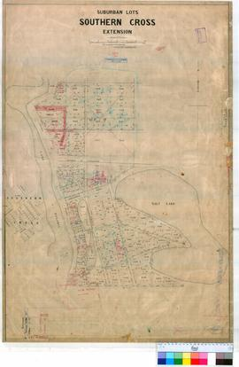 Southern Cross 48/2. Plan of Southern Cross suburban Lots Extension. By E.P. Muntz and J.C. Watt ...