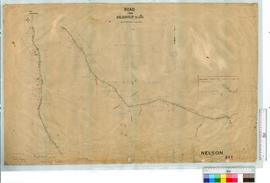 Road from Balbarrup to Reserve 1291 by H.I. Farrell, Fieldbook 7. Deviation details by J.H. Goodw...