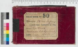 J.H.M. Lefroy Field Book No. 50