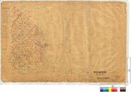 "Survey of Wickepin Agricultural Area. Area (Vicinity of Inkiepinkie Well, and ""Cuneenying"") by J. Lefroy and later additions [scale: 20 chains to an inch]."
