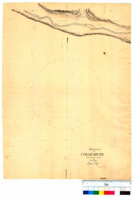 Chain survey of the Collie River by Thomas Watson, sheet 7 [Tally No. 005152].