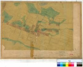 Perth 13. Plan of Lots, Lakes & Streets in area bounded by Goderich Street in South, Lake Irw...