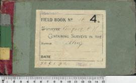 Field Book No. 4. W.H. Angove. Avon