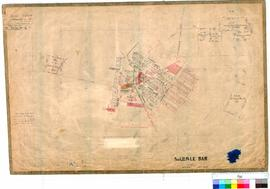 Marble Bar 63/2. Plan of Marble Bar Townsite showing Lots 1-71, E. W. Geyer., Fieldbook 3 12/1892...