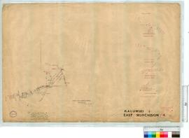 Lawlers to Darlot partly plotted from Mines Dept. Info Tracing 76 by A. Mitchell Fieldbook 6 [sca...