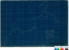 M. Terry - 1932 Expedition. Key plan to heights above sea level determined by Aneroid readings. C...