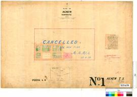 Agnew Sheet 1 [Tally No. 503659].