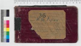 J.H.M. Lefroy Field Book No. 36