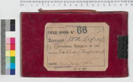 J.H.M. Lefroy Field Book No. 66