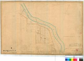 Toodyay (Newcastle) 12. Plan of Toodyay Townsite by F.T. Gregory 1852, W. Phelps 1859/1860, by C....