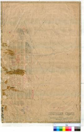 Southern Cross 48/1. Plan of Southern Cross showing Railway Station Yard and area bounded by Siri...