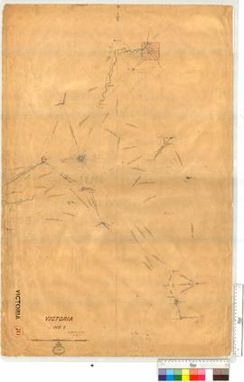 Forrest's Triangulation Sheet 1, vicinity of Irwin River, Fieldbook 27 [scale: 80 chains to ...