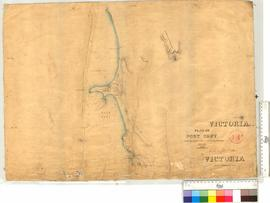 Soundings Plan of Port Grey from Survey by B.F. Helpman (RN).