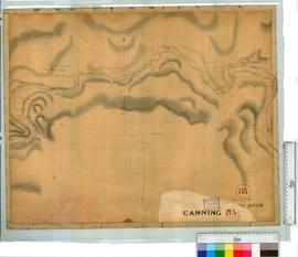 Canning River Location by G. Smythe [scale: 8 chains to an inch].