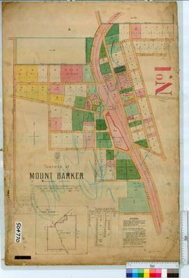 Mount Barker Sheet 1 [Tally No. 504770].