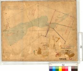 Rough Sketch of Lake Joondalup from the survey by T. Watson with additions by J. Gregory, Fieldbo...