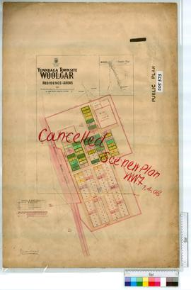 Yunndaga Sheet 1 [Tally No. 505373].(Woolgar Residence Areas)