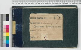 P.L.S. Chauncy Field Book No. 10
