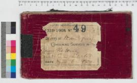 J.H.M. Lefroy Field Book No. 49