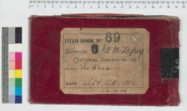 J.H.M. Lefroy Field Book No. 69