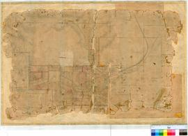 Northampton 6/5. Plan of Lots and Roads in Northampton Township. Lots bounded by West Street, Wan...