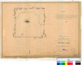 Worriloo 31A. Plan of boundaries proposed for Townsite of Worriloo showing Reserve 777, the Goodm...
