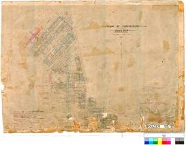 Boulder 107/57. Plan of Subdivision, Boulder. E. H. B. Macartney [scale: 3 chains to 1 inch].