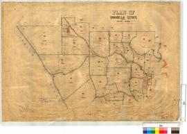 Plan of Oakebella Estate, Sheet 2, vicinity of White Well, Goat Hill, and Oakabella House by J.P....