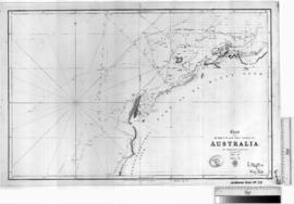 North West & West Coasts of Australia by P. King [b/w photographic print only].