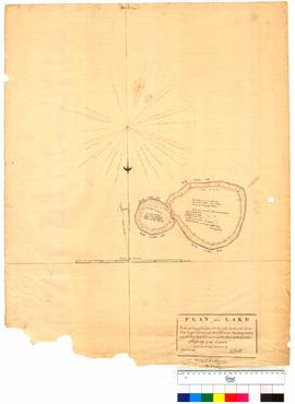 Plan of lake near Location 14, Hay River drawn by D. Smith, Sheet 2 [Tally No. 005282].