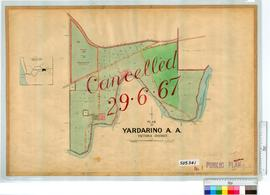Yardarino Sheet 1 [Tally No. 505341].