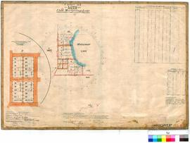 Mariginiup 245. Plan of Marijiniup Lake showing Lots 1-36 bounded by Pinjar Rd, Capon St & La...