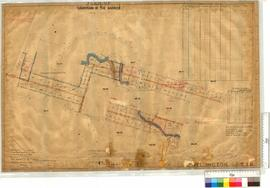Subdivision of the Barrier near Collie Locations 1424 to 1439, etc. by H.A. Love, Fieldbook 2 [sc...
