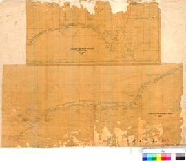 E.J. Eyre - Route from South Australia to Cape Arid, April and May 1841 (and) Route to King Georg...