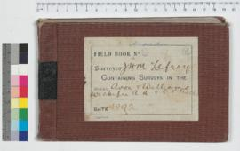 J.H.M. Lefroy Field Book No. 9
