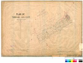 Goomalling 239. Plan of Goomalling Lots 1 to 37. B. W. Ridley [scale: 2 chains to an inch].