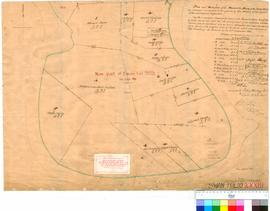 Folio XXXIII. Plan and subdivision of the Peninsula Farm on the Swan River, as surveyed and marked by George Johnson at the request of the grantees.