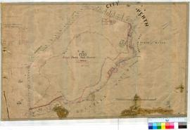 Perth 18/34. Plan of City of Perth showing Reserve 1720, Kings Park Reserve & surrounding area, Thomas & Brooking Streets, Mounts Bay, The Narrows & Melville Water [scale: 6 chains to an inch].