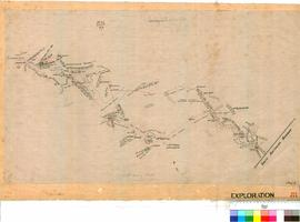 Plan showing route taken by the Swinger Exploration Party [Sheet 2].