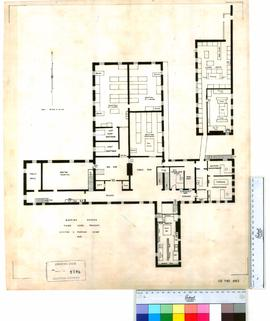 Floor plan, Central Government Buildings, Mapping Branch.