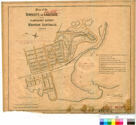 Elleker 144/2. Plan of the Townsite of Elleker in the Plantagenet District, Western Australia, 18...