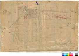 Mullewa 93. Plan of Mullewa Townsite showing Lots 1-46 & S1-27 by W.H. Tibbets Fieldbook 5 &a...